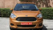 2015 Ford Figo front close first drive review