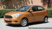 2015 Ford Figo front three quarter close first drive review