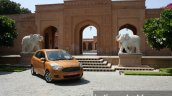 2015 Ford Figo front three quarter far first drive review