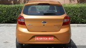 2015 Ford Figo rear close first drive review