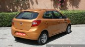 2015 Ford Figo rear quarter first drive review