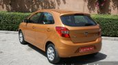 2015 Ford Figo rear quarter left first drive review
