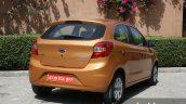 2015 Ford Figo rear quarter low first drive review