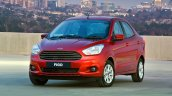 2015 Ford Figo sedan front launched in South Africa