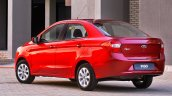 2015 Ford Figo sedan rear launched in South Africa