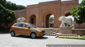 2015 Ford Figo side quarter first drive review