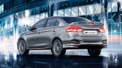 2015 Maruti Ciaz RS rear quarter launched