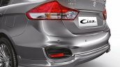 2015 Maruti Ciaz RS rear spoiler launched