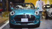 2015 Mini Convertible front at the Tokyo Motor Show 2015