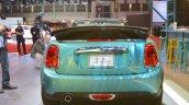 2015 Mini Convertible rear at the Tokyo Motor Show 2015