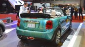 2015 Mini Convertible rear three quarters at the Tokyo Motor Show 2015