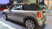 2015 Mini Convertible top deployed at the Tokyo Motor Show 2015