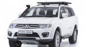2015 Mitsubishi Pajero Sport Shogun Edition front three quarter launched in South Africa