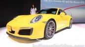 2015 Porsche Carrera 4S front quarter at 2015 Tokyo Motor Show