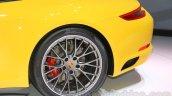 2015 Porsche Carrera 4S rim at 2015 Tokyo Motor Show