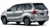 2015 Toyota Avanza (facelift) rear three quarter launched in South Africa