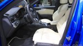 2016 Audi A4 front seat at the 2015 Tokyo Motor Show