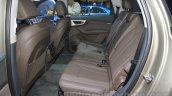 2016 Audi Q7 e-tron rear seats at the 2015 Tokyo Motor Show