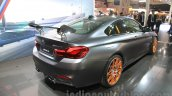 2016 BMW M4 GTS rear three quarter at the 2015 Tokyo Motor Show