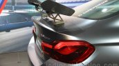 2016 BMW M4 GTS rear wing at the 2015 Tokyo Motor Show