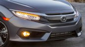 2016 Honda CIvic grey head lamps
