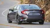 2016 Honda CIvic grey rear quarter