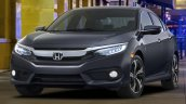 2016 Honda Civic front quarter left official image