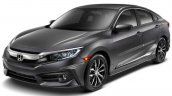 2016 Honda Civic front quarter official image