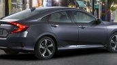 2016 Honda Civic rear quarter official image
