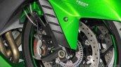 2016 Kawasaki Ninja ZX-14R brakes at 2015 Tokyo Motor Show