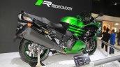 2016 Kawasaki Ninja ZX-14R rear quarter at 2015 Tokyo Motor Show