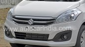 2016 Maruti Ertiga (facelift) front fascia revealed