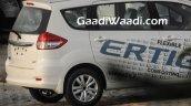 2016 Maruti Ertiga (facelift) rear end starts arriving at dealerships