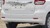 2016 Maruti Ertiga (facelift) rear fascia revealed