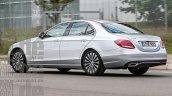 2017 Mercedes rear E Class will offer mild-hybrid tech