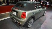 2016 Mini Convertible at the 2015 Tokyo Motor Show