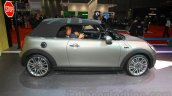 2016 Mini Convertible profile at the 2015 Tokyo Motor Show