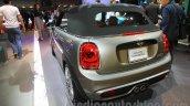 2016 Mini Convertible rear quarter at the 2015 Tokyo Motor Show