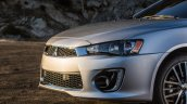 2016 Mitsubishi Lancer facelift front fascia press shots