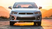 2016 Mitsubishi Lancer facelift front press shots