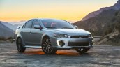 2016 Mitsubishi Lancer facelift front quarter press shots