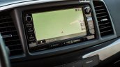 2016 Mitsubishi Lancer facelift navigation press shots