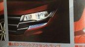 2016 Nissan Dayz Highway Star headlamp leaked in brochure