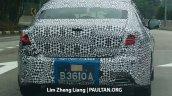 2016 Proton Perdana boot spied