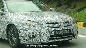 2016 Proton Perdana front fascia spied