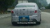 2016 Proton Perdana tail lights spied