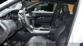 2016 Range Rover Evoque front seats at the 2015 IAA