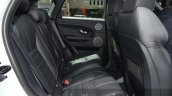 2016 Range Rover Evoque rear seats at the 2015 IAA