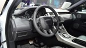 2016 Range Rover Evoque steering wheel at the 2015 IAA