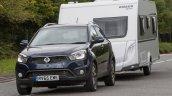2016 SsangYong Korando 2.2 ELX caravan front